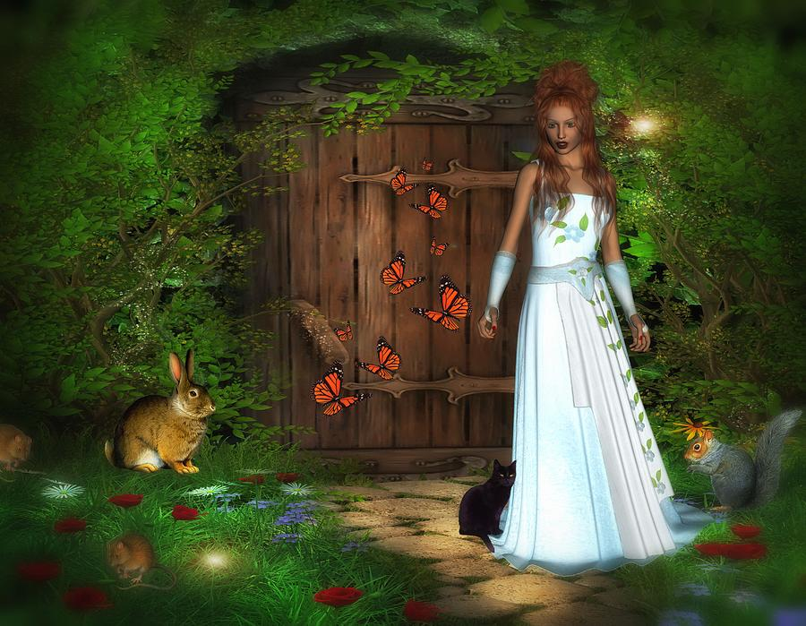 Secret Garden Digital Art