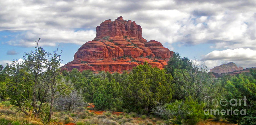 Sedona Arizona Bell Rock Photograph - Sedona Arizona Bell Rock by Gregory Dyer