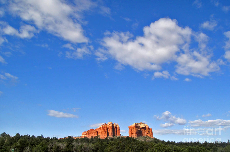 Sedona Arizona Big Sky Photograph  - Sedona Arizona Big Sky Fine Art Print