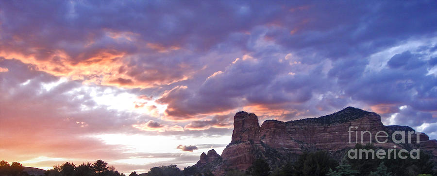 Sedona Arizona Photograph - Sedona Arizona Sunset by Gregory Dyer
