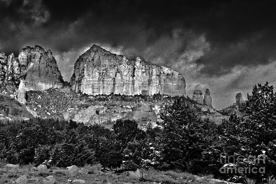 Sedona Arizona - Winter Photograph