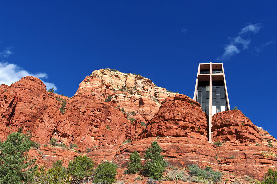 Sedona Chapel Of The Holy Cross Photograph By Lou Ford