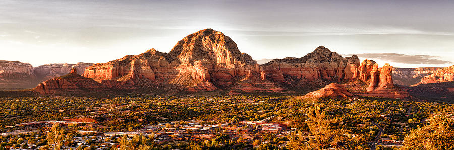 Sedona Panorama Photograph