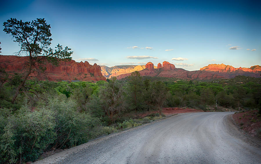 Sedona Road Photograph