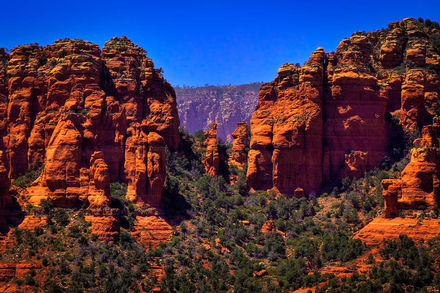 Sedona Rock Formations II Photograph