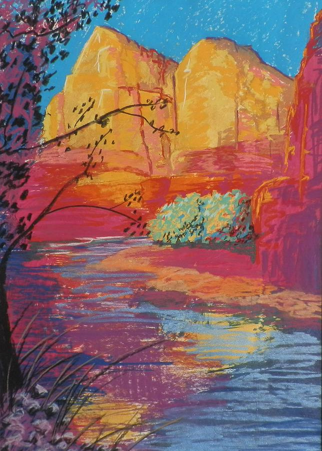 Sedona Sunrise Painting