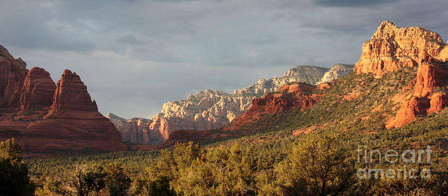Sedona Sunshine Panorama Photograph