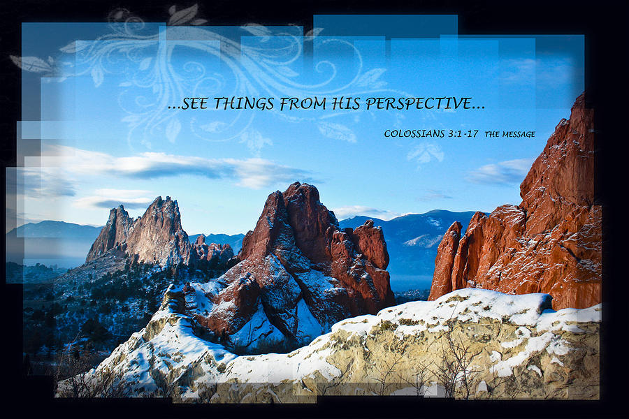 See Things From His Perspective Photograph