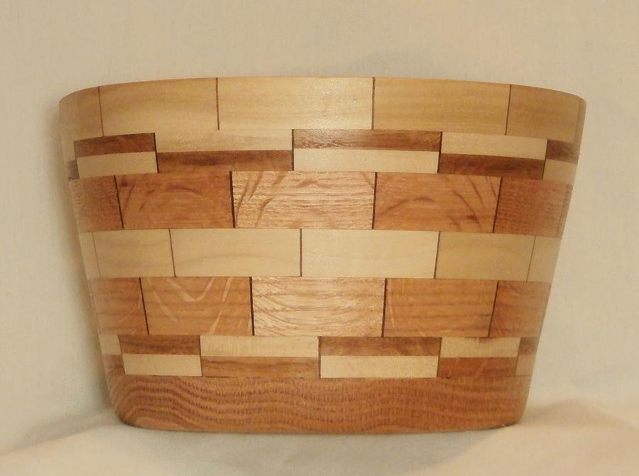 Segmented Bowl Turning-1 Sculpture