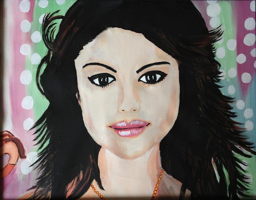 Selena Gomez Painting