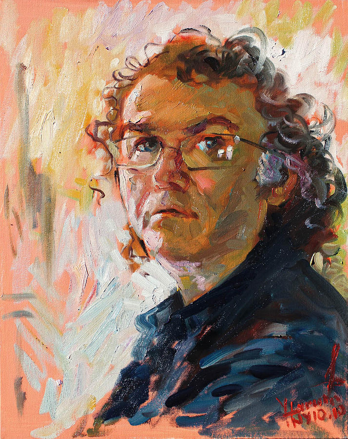 Self- Portrait 2010 Painting