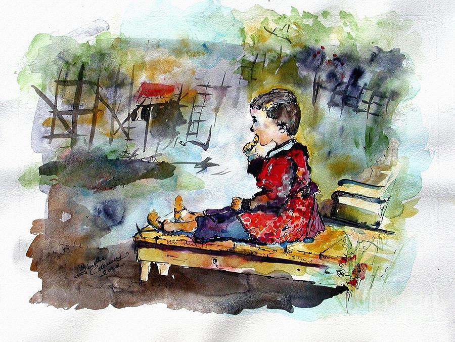 Self Portrait Childhood Painting