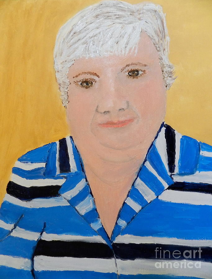 Self Portrait Painting  - Self Portrait Fine Art Print
