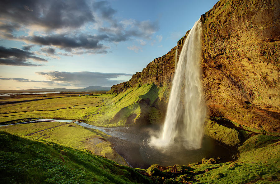 Seljalandsfoss Iceland is a photograph by Peter OReilly which was ...