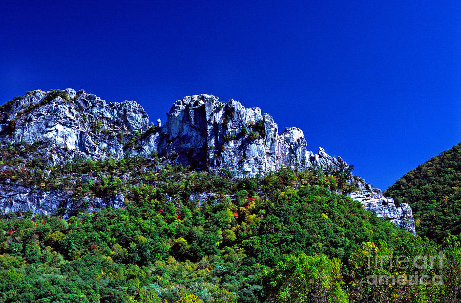 Seneca Rocks National Recreational Area Photograph  - Seneca Rocks National Recreational Area Fine Art Print