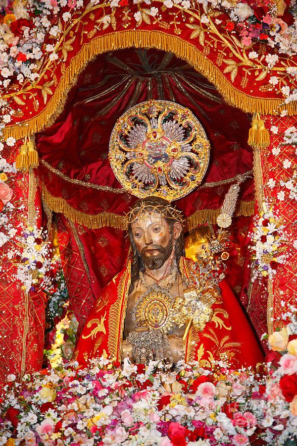 Senhor Santo Cristo Dos Milagres Photograph