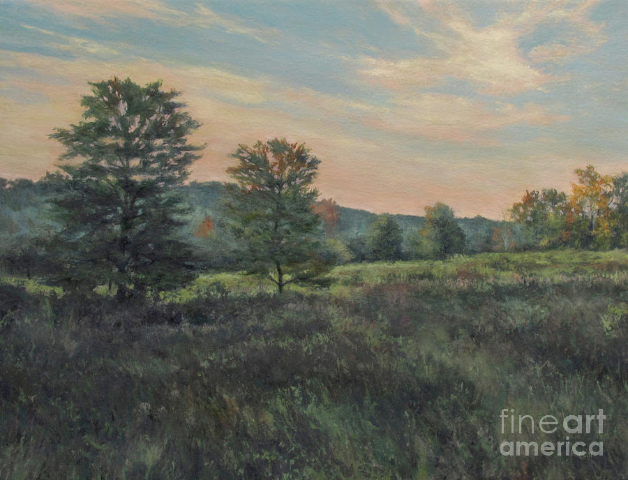 September Meadow Painting  - September Meadow Fine Art Print