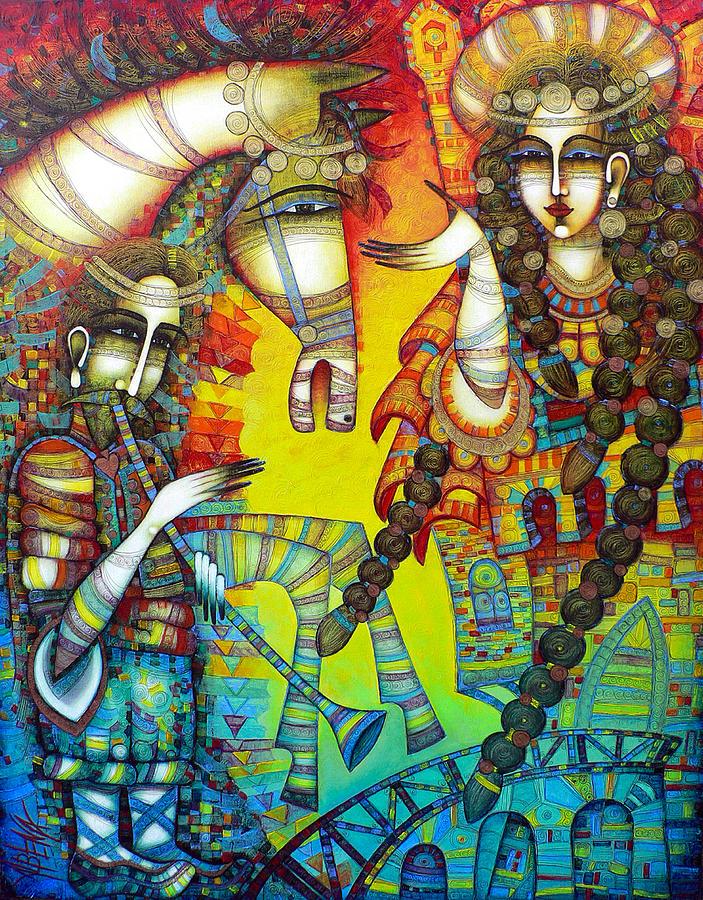 Albena Painting - Serenade by Albena Vatcheva