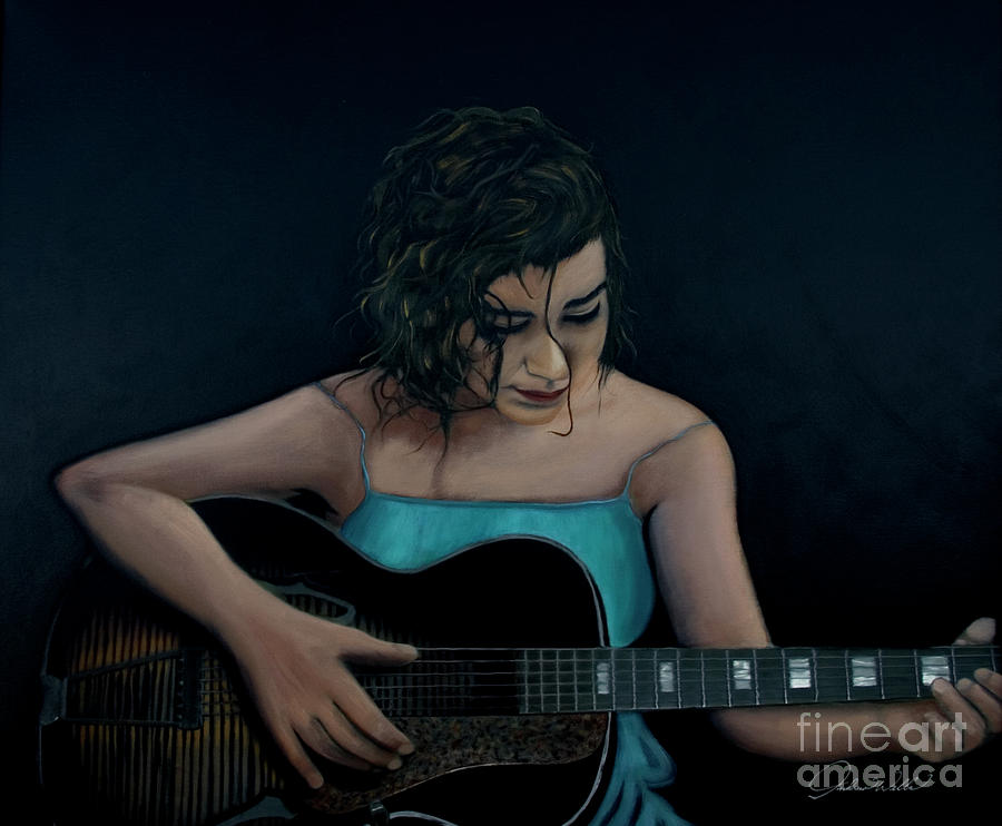 Serenade To The Heart Painting  - Serenade To The Heart Fine Art Print