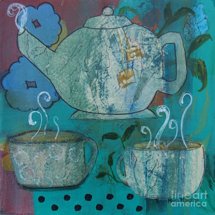 Serene Tea Painting