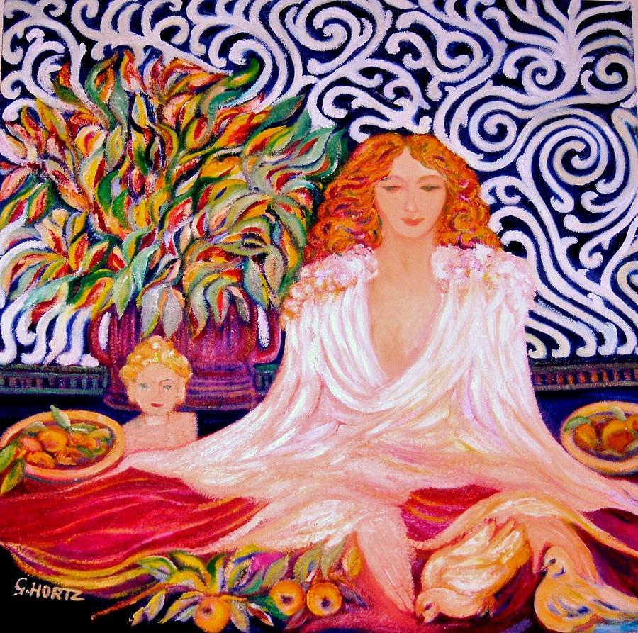 Serenity - Art Deco Painting