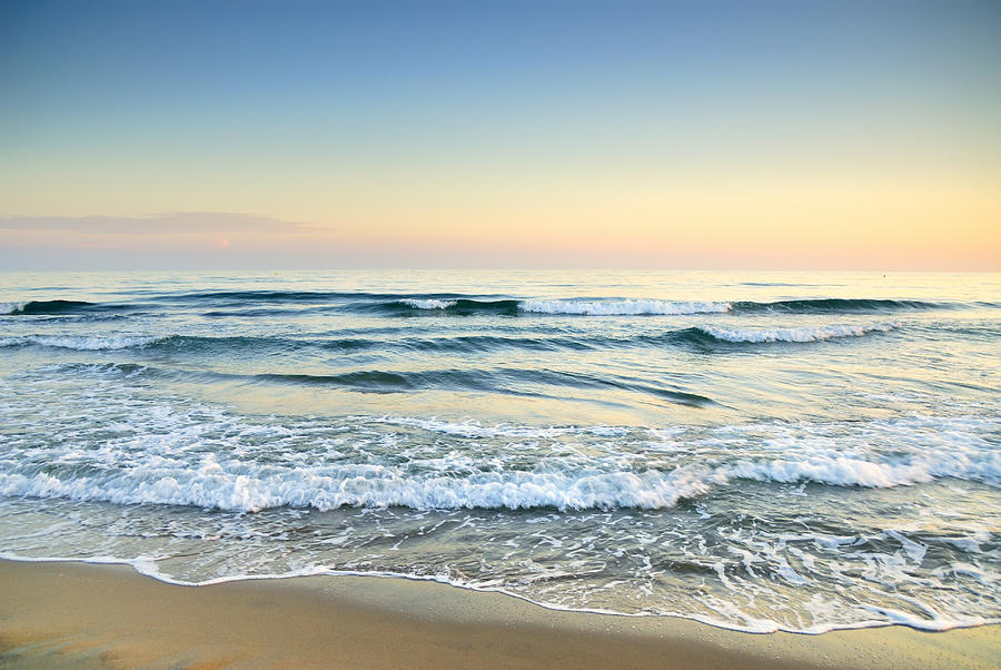 Serenity Sea Vintage Photograph