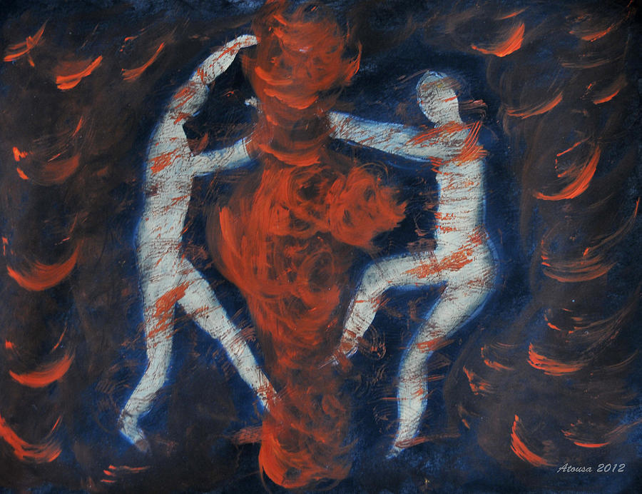 Set Fire To Your Soul Painting  - Set Fire To Your Soul Fine Art Print