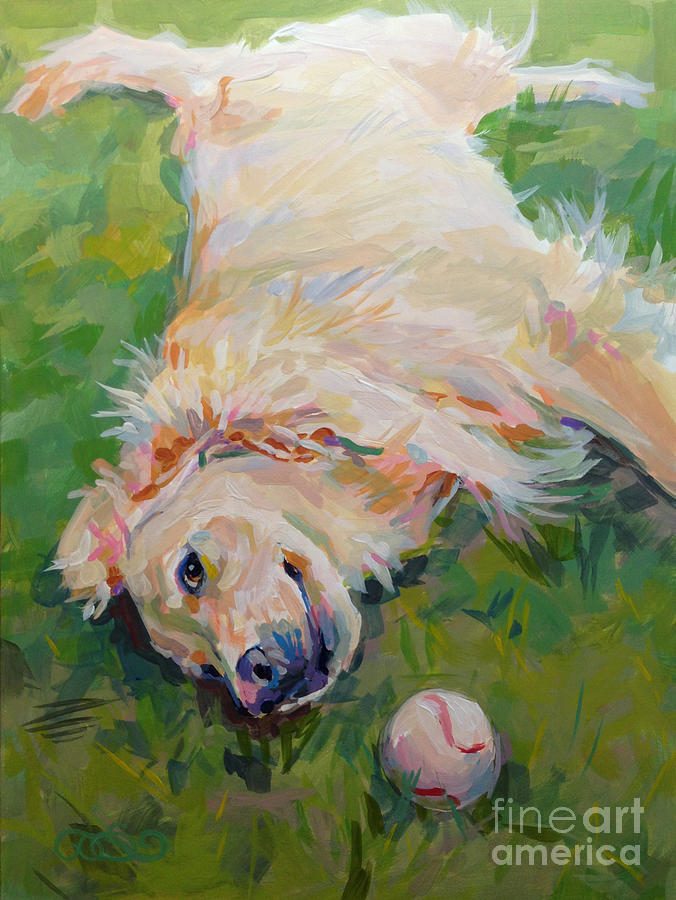Seventh Inning Stretch Painting