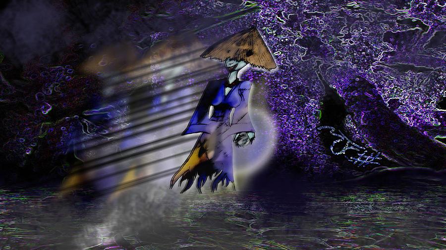 Severely Haunted Woods Digital Art