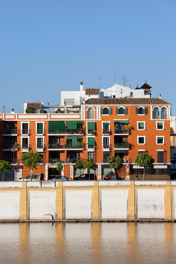 Seville House River View Photograph