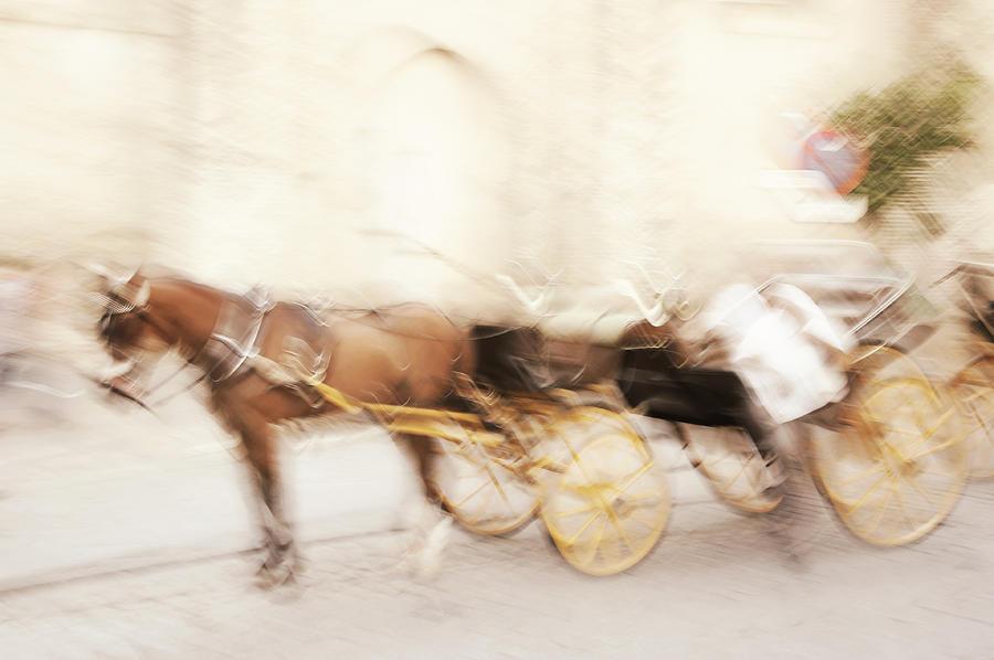 Impressionism Photograph - Seville Impression by Jenny Rainbow