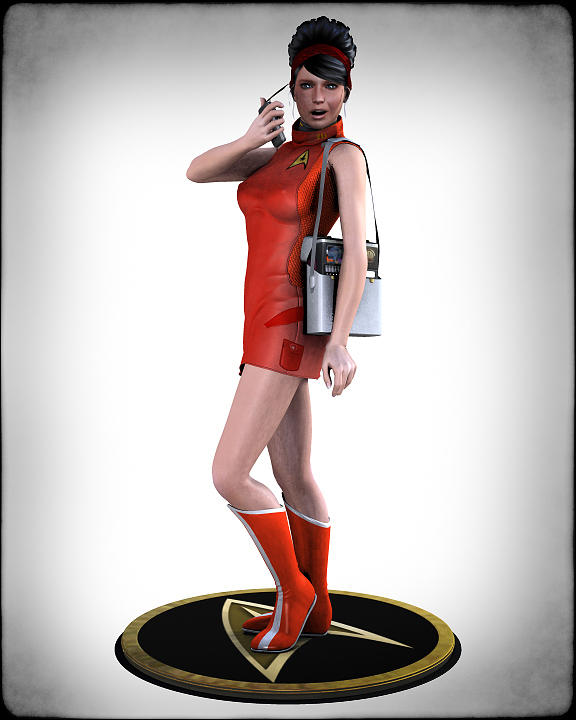 Sexy Trekky Digital Art