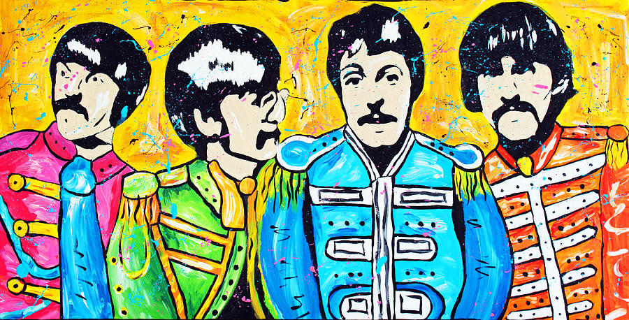 Beatles Painting - Sgt. Peppers Lonely Hearts Club by Tara Richelle