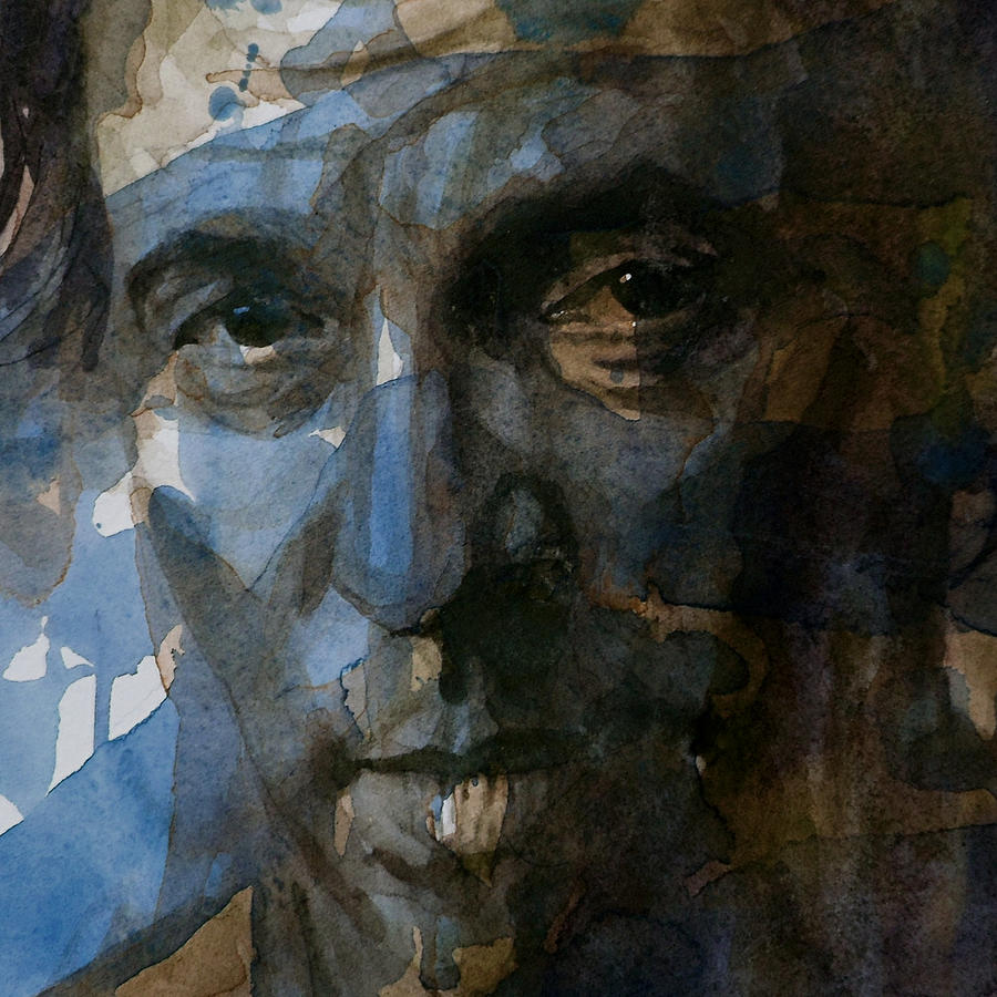 Bruce Springsteen  Painting - Shackled And Drawn by Paul Lovering