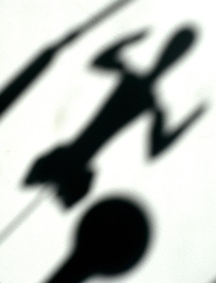 Shadow Drawing - Shadow Art by Godfrey McDonnell