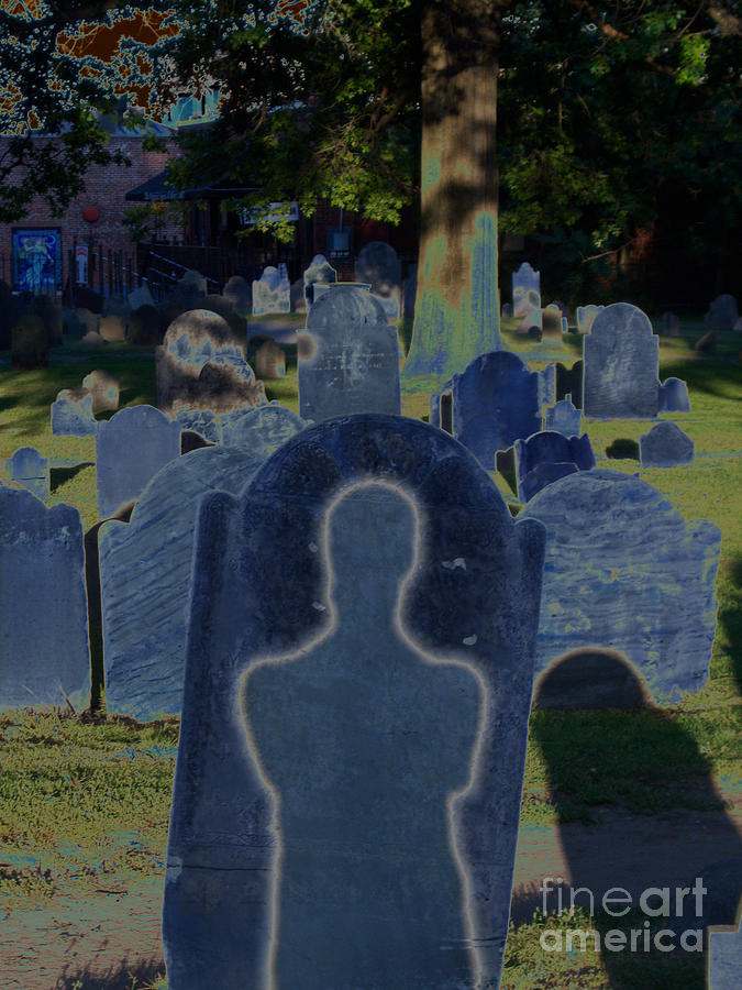 Irst Star Art Photograph - Shadow Grave  by First Star Art