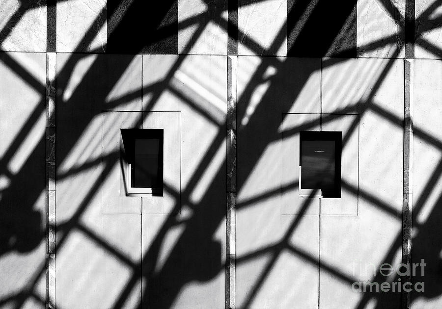 Shadows Canberra Photograph  - Shadows Canberra Fine Art Print
