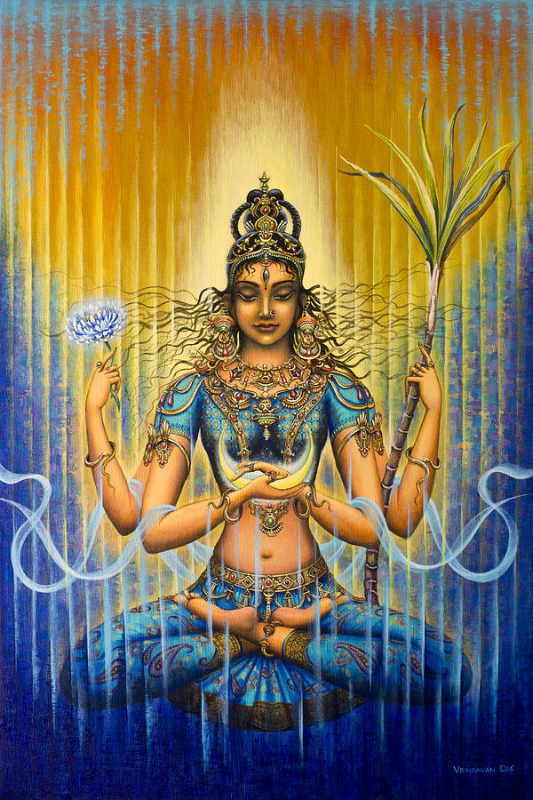 Shakti Flow Painting