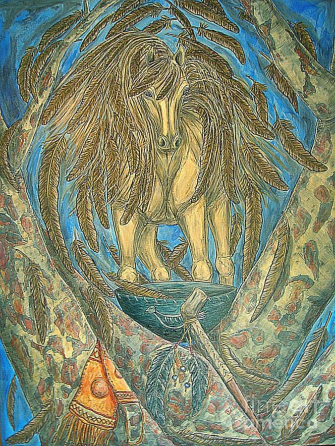 Shaman Spirit Painting