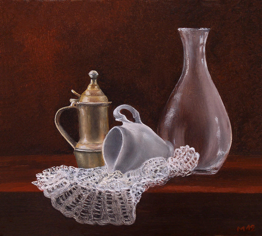Still Life Painting - Shapes by Manuela Markus