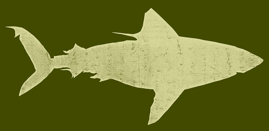 Shark Drawing  - Shark Fine Art Print