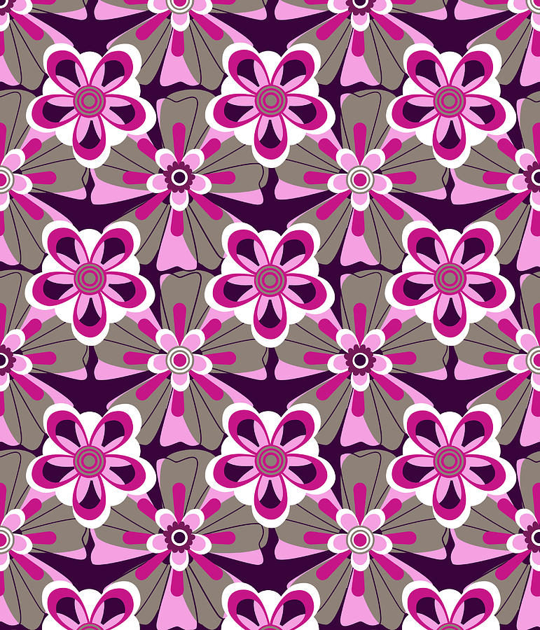 She Loves Me Floral Digital Art