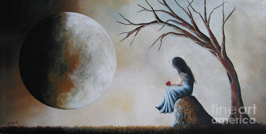 She Misses You By Shawna Erback Painting  - She Misses You By Shawna Erback Fine Art Print