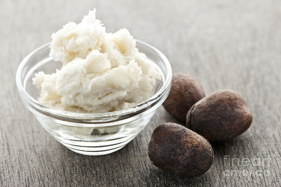 Shea Butter And Nuts  Photograph
