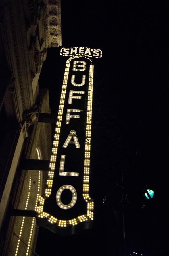 Buffalo Theatre District Photograph - Sheas Buffalo by Guy Whiteley