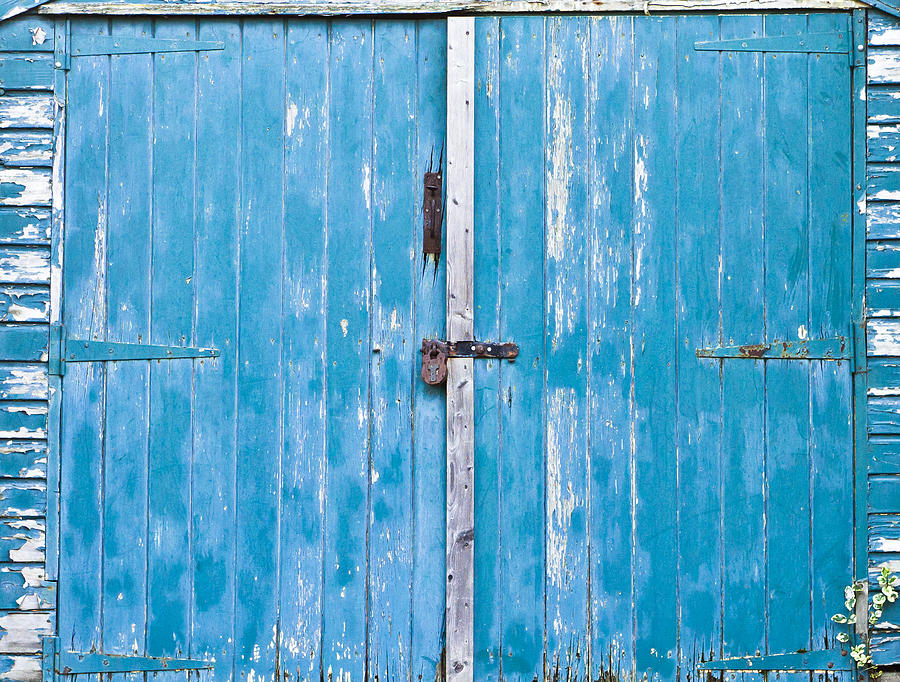 Shed Door Photograph