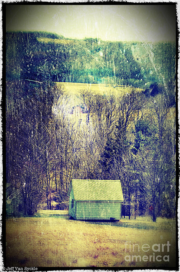 Shed Photograph  - Shed Fine Art Print