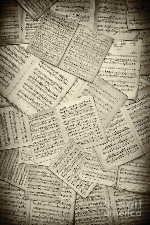 Sheet Music Photograph