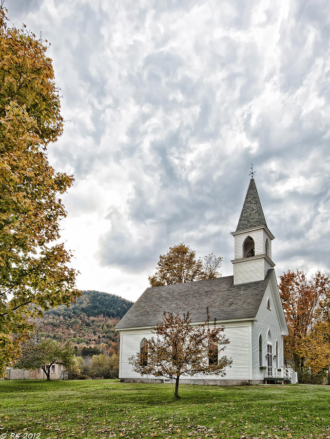 Shelburne Village Church Photograph