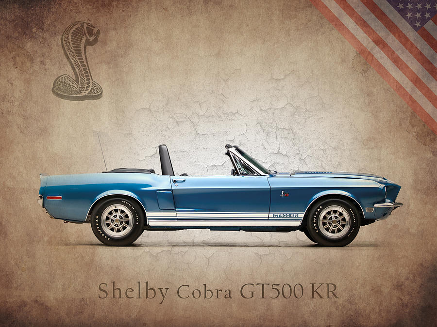 Shelby Cobra Gt500 Kr Photograph